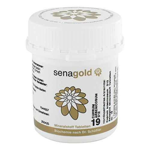 Schüßler Salz Nr.19 - Cuprum arsenic. D12-400 Tabletten, glutenfrei