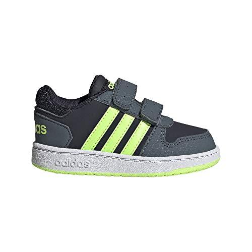 adidas Hoops 2.0 CMF I, Zapatillas Unisex bebé, Tinley/VERSEN/AZULEG, 18 EU