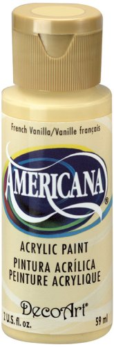 DecoArt Americana Acrylic Paint, 2-Ounce, French Vanilla