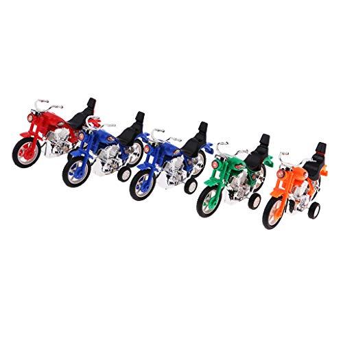 Homyl 5 Stücke Mini Zurückziehen Motorrad Spielzeug Geschenk Für Kinder Goody Tasche Werbegeschenk Preise