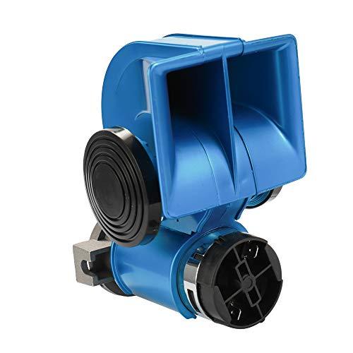 KKmoon vrachtwagen claxon Twin dubbele toon compact Air luide hoorn 12 V 150 dB voor auto compressor vrachtwagen bus van