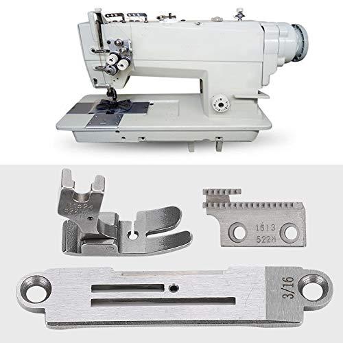 Máquina de coser Juego de placas de aguja Prensatelas Máquina de coser Accesorios para Juki Zoje