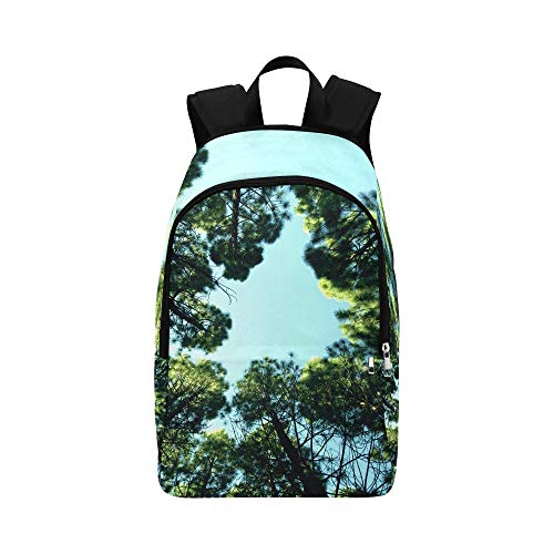 Life of Pix Free Stock Photos Trees Sky Forest Mik Casual Daypack Travel Bag College School Backpack for Mens and Women