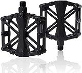 Pedales de bicicleta de aluminio para bicicleta de carretera/montaña/MTB/BMX con pedales de rodamiento ligero y estable con pedal antideslizante