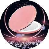 H/L Funzione Portable LED Specchio Cosmetico con 2X Lente d'Ingrandimento, HD Superficie dello Specchio Not Only Compatto E Leggero Ma Anche Facile da Trasportare E da Utilizzare