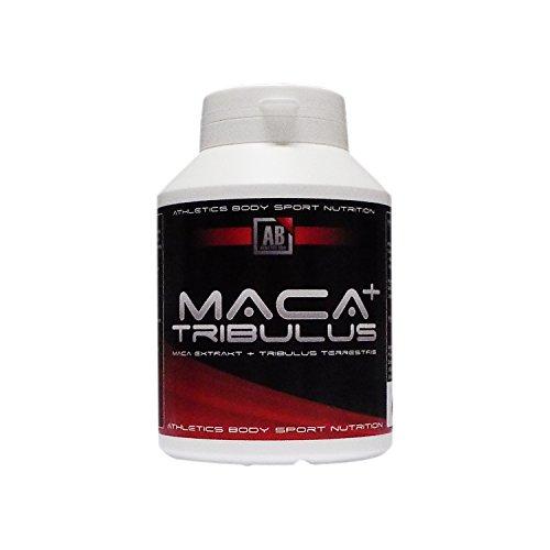 Maca Kapseln hochdosiert 6400 mg + Tribulus 900 mg ideal kombiniert in einem Produkt, 90 Kapseln in Premiumqualität, Hochdosiert,