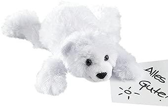 Plüschtier Eisbär Stofftier Plüschbär Bär Polarbär Kuscheltier Samtig Weich 28cm