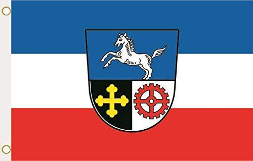 U24 Flagge Fahne Augsburg OT Haunstetten 90 x 150 cm
