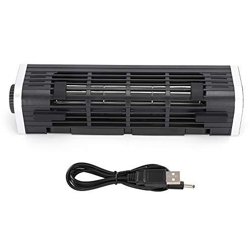 Dpofirs Leistungsstarke Lüfterhalterung für Computer, tragbarer Kühler mit schneller Wärmeableitung für Computer und Telefone, Lüfter, 2100-2900PRM(schwarz)