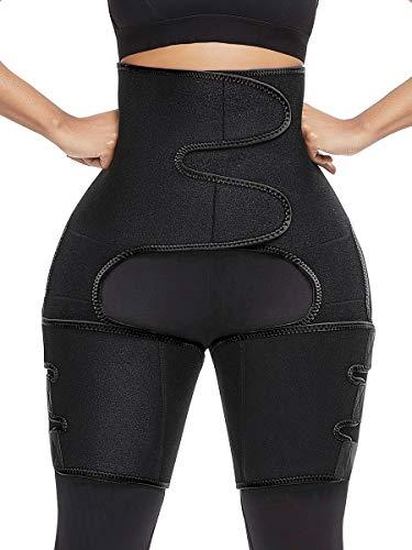 Joymode Oberschenkelbandage, Neopren, Fettverlierung, Cellulite, hohe Kompression, Slimmers für Männer und Frauen, Unisex, Atrous, X-Large