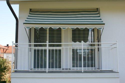 Angerer 8700 Dralon Store de terrasse Vert 200 cm