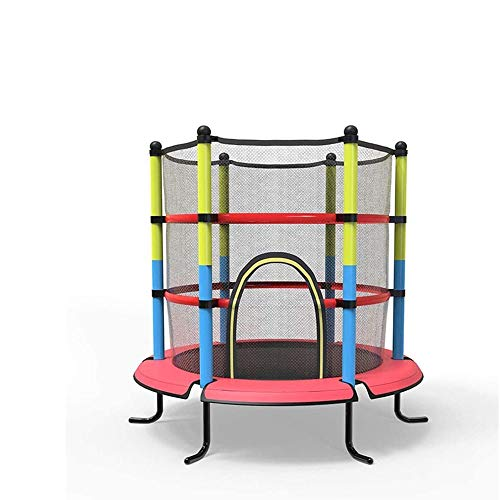 LKNJLL 40' Mini Trampoline For Kids - 5ft Outdoor & Indoor Trampoline | Birthday Gifts for Kids,Gifts for Boy and Girl,Baby Toddler Trampoline Toys