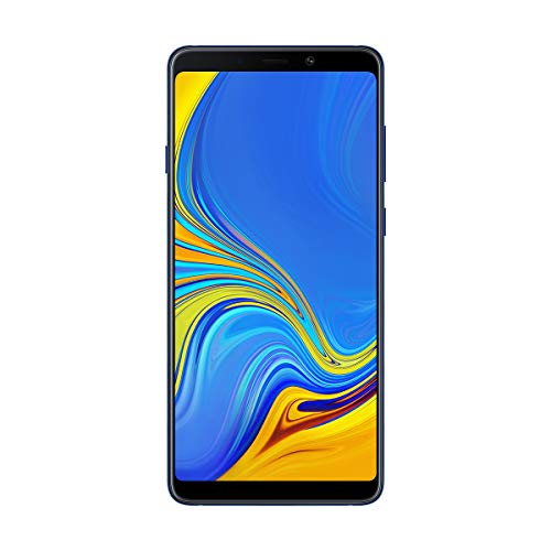 Samsung Galaxy A9 - Smartphone de 6.3' (4G, Octa-Core, RAM de 6 GB, Memoria de 128 GB, 4 cámaras de 24+5+10+8 MP, Android), Azul