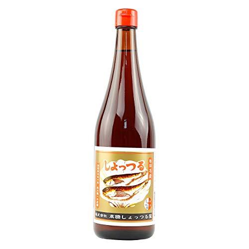 高橋しょっつる屋 秋田名産 しょっつる 塩魚汁 魚醤油 無添加 720ml 1本