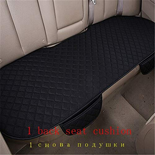YBINGA Funda para asiento de coche, 1 unidad, de invierno, corta, de felpa, universal, para asientos de coche, fundas para sillas de coche, para Lada/Toyota/Hyundai/Ford (tamaño: verde)