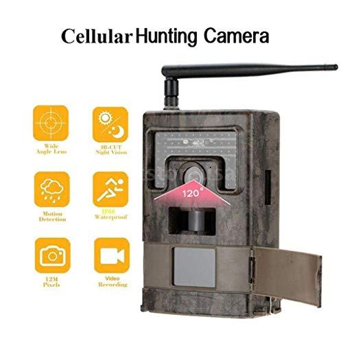 Preisvergleich Produktbild Qaryyq Wasserdichte Jagd Kamera 1080 P Infrarot Nachtsicht Sport 12 Mp Wild Animal Trail Kamera Ip66 Außenüberwachung Home Security Jagd Spiel Falle Kamera Wild Animal Kamera