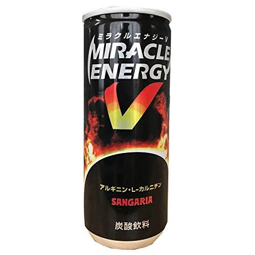 【2ケース】ミラクルエナジーV 250ml缶×60本 (サンガリア)