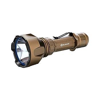 Lampe torche LED rechargeable Warrior X Turbo 1100 lum. Olight désert limité