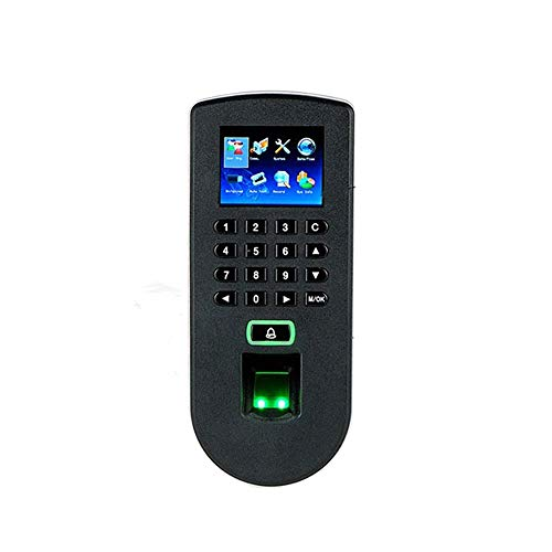 HEQIE-YONGP Timeuhren für Mitarbeiter Kleinunternehmen Fingerabdruck-Zugriffskontrolle Angestellt-Anwesenheits-RFID Biometric Access Control TCP/IP USB Port Access Control Kit