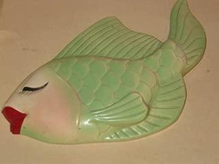 Fish Wall Plaque (Plaster/chalkware) Vintage