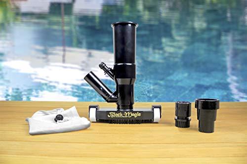Poolmaster 28008 Black Magic Jet Spa and Swimming Pool Vacuum, Premier