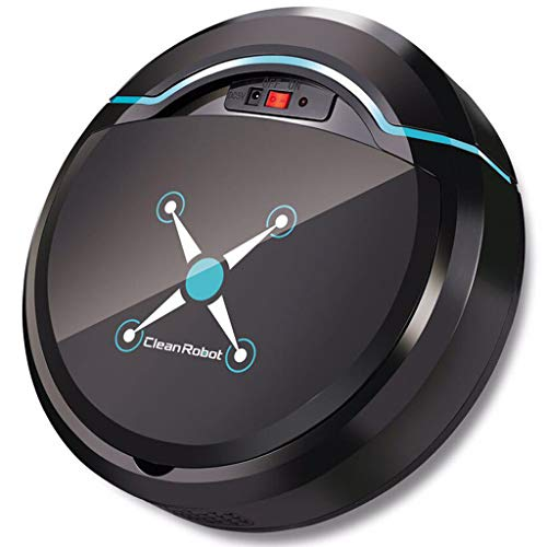 Dolloress Smart Robot Vacuum- High Suction, Navigated/Low Noise/Charging Robotic Vacuum Best Cleaner Designed for Hard Floor and Thin Carpet