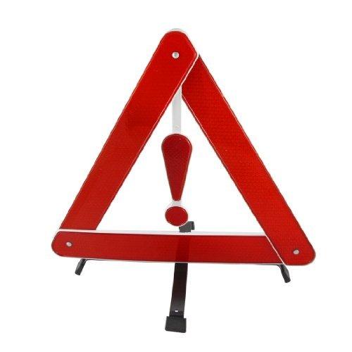 Roadside DealMux Negro soporte de plástico rojo seguridad en las carreteras Triángulo...