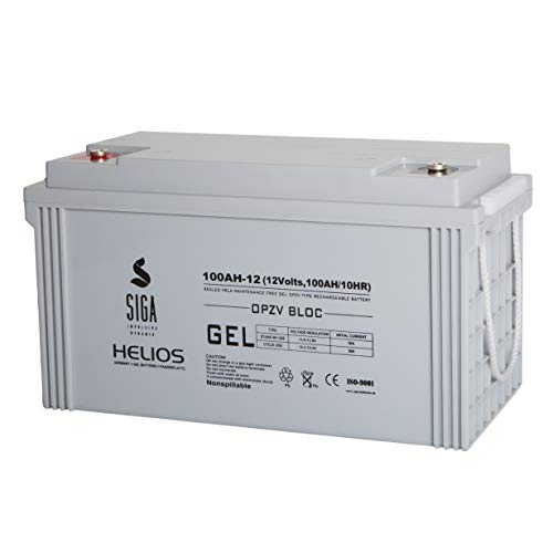 OPZV Gel 100AH 12V Solarbatterie Solar Block Wohnmobil Batterie Panzerplatte Versorgungsbatterie