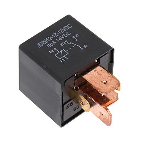 12V/80A Relais SPDT Schliesser Arbeitsstromrelais Schaltrelais 5-pin für Lkw Auto
