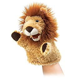 Folkmanis Little Lion Hand Puppet