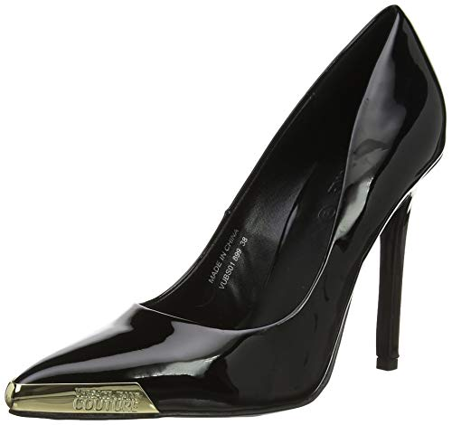 VERSACE JEANS COUTURE Damen Shoes Pumps, Schwarz (Nero 899.0), 35 EU