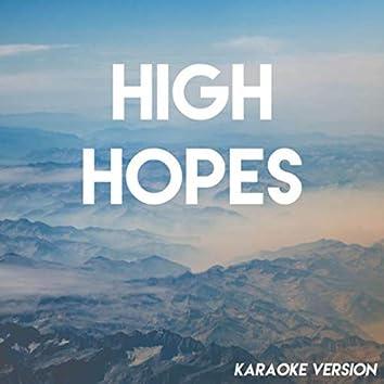 High Hopes (Karaoke Version)