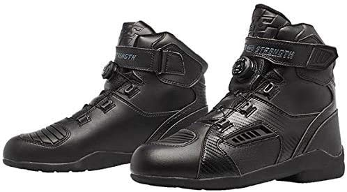 Speed and Strength Revolt Men's Street Motorcycle Boots - Black / 12