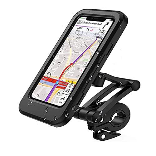 Paddsun Handyhalterung Fahrrad Wasserdicht IPX6 Handyhalter Motorrad mit Touch-Screen, Smartphone Halterung Fahrrad Mit 360 Drehenkompatibel mit 6,7 Zoll Phone