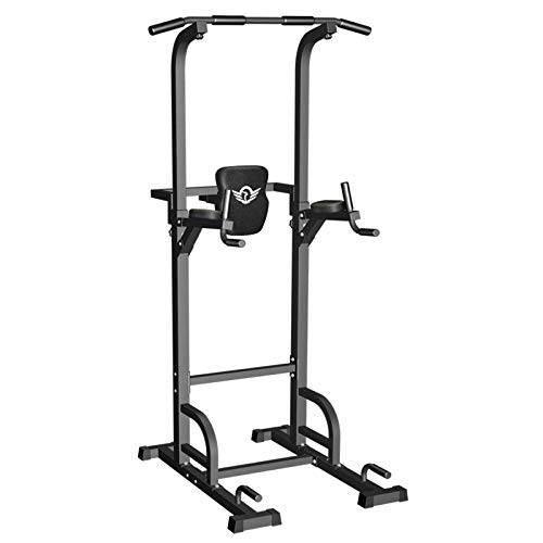 Sportsroyals Power Tower Dip Station Pull Up Bar for Home Gym Strength...