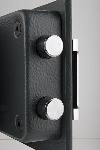 Yale YSM/250/EG1 Certified Home Safe, Insurance Approved, 22 mm Motorised Locking Bolts, LCD Screen, Internal Lights, Wall And Floor Fixings, Black Finsih, 18 Litre Capacity 25 x 35 x 36 cm