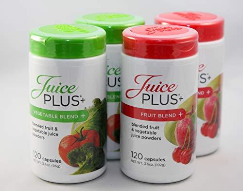 Capsulas de frutas y verduras