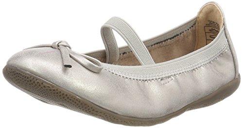 Indigo Schuhe Mädchen 422 227 Geschlossene Ballerinas, Silber (Silver), 36 EU