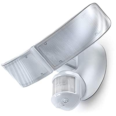 Home Zone Security | Mark 3 | LED Flood Security Light - Smart Motion Sensor- Outdoor Weather Proof 2500 Lumens 35 Watts (Daylight)