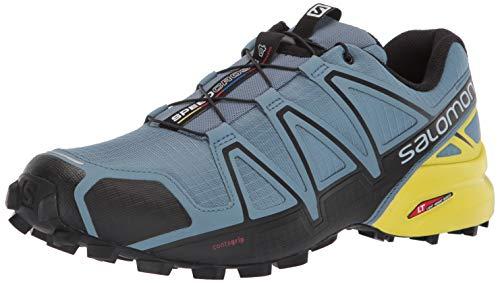 Salomon Herren Speedcross 4 Trailrunning-Schuhe, Blau (Bluestone), 42 EU