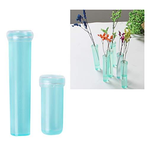 BeautyOL 10Pcs Floral Water Tube Vials Plastic Tubes Rose Flower Tubes Gardening Supplies