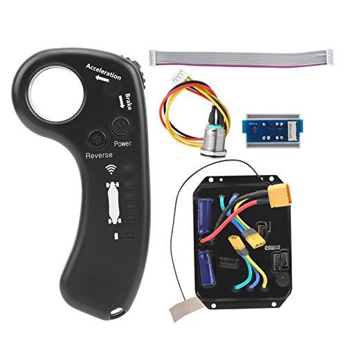 Pwshymi Controlador de Doble accionamiento de 36 V, comunicación bidireccional, Kit de Controlador de accionamiento Doble, Controlador de accionamiento Doble, Cuatro Ruedas para Monociclo