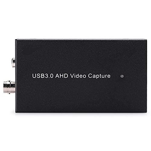 CUTULAMO Tarjeta EC267 AHD a USB3.0 Full HD, EC267 AHD a USB3.0 Tarjeta de adquisición de Video Full HD Anticaída y Duradera para/Mac /