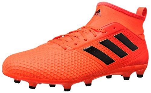 adidas Men's ACE 17.3 FG Soccer Shoe, Solar Orange/Black/Solar RED, 13 Medium US