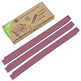 TreeBox Tiras profesional de silicona para amasar – Juego de 3 – Modernos palitos para amasar – Amasa el fondant y la masa uniformemente – Efecto antideslizante y antiadherente
