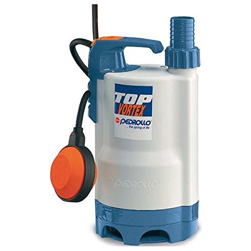 VORTEX Submersible Electric Pump Dirty Water TOP3VORTEX 5M 0,75Hp 240V Pedrollo