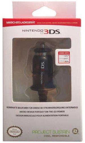 Shardan GACC2844 Zwart In-Car oplader voor Nintendo DS