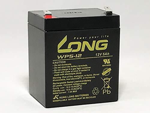 LONG 12V 5Ah 高性能 シールドバッテリー WP5-12 WP5-12