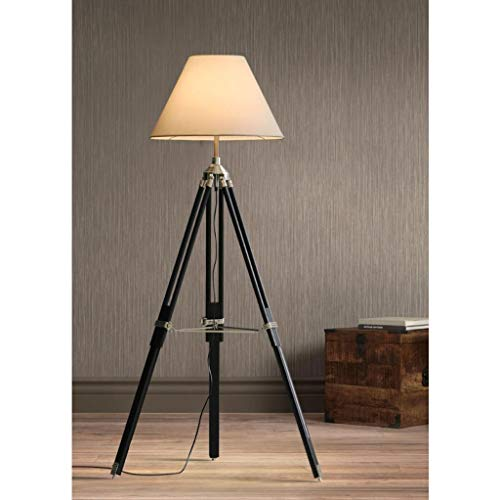 N/Z Equipo Diario Lámpara de pie/Iluminación Interior Lámpara estéreo Ajustable para el hogar/Oficina Soporte Triangular E27 Interruptor de pie de Fuente de luz (Color: # 1)