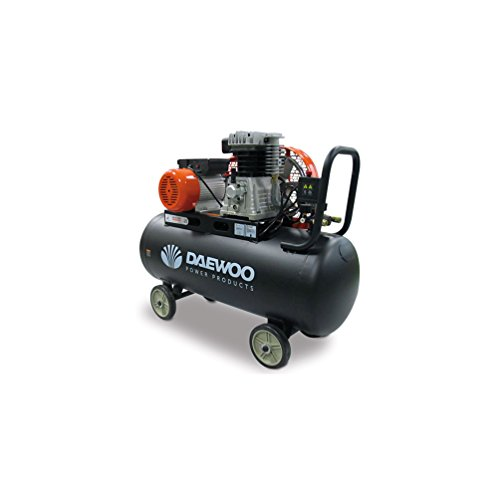 Daewoo DAC100C – Electric Compressor 3HP, 100L, 240V, with fan belt